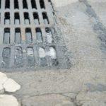 Blocked Sewer Drain.