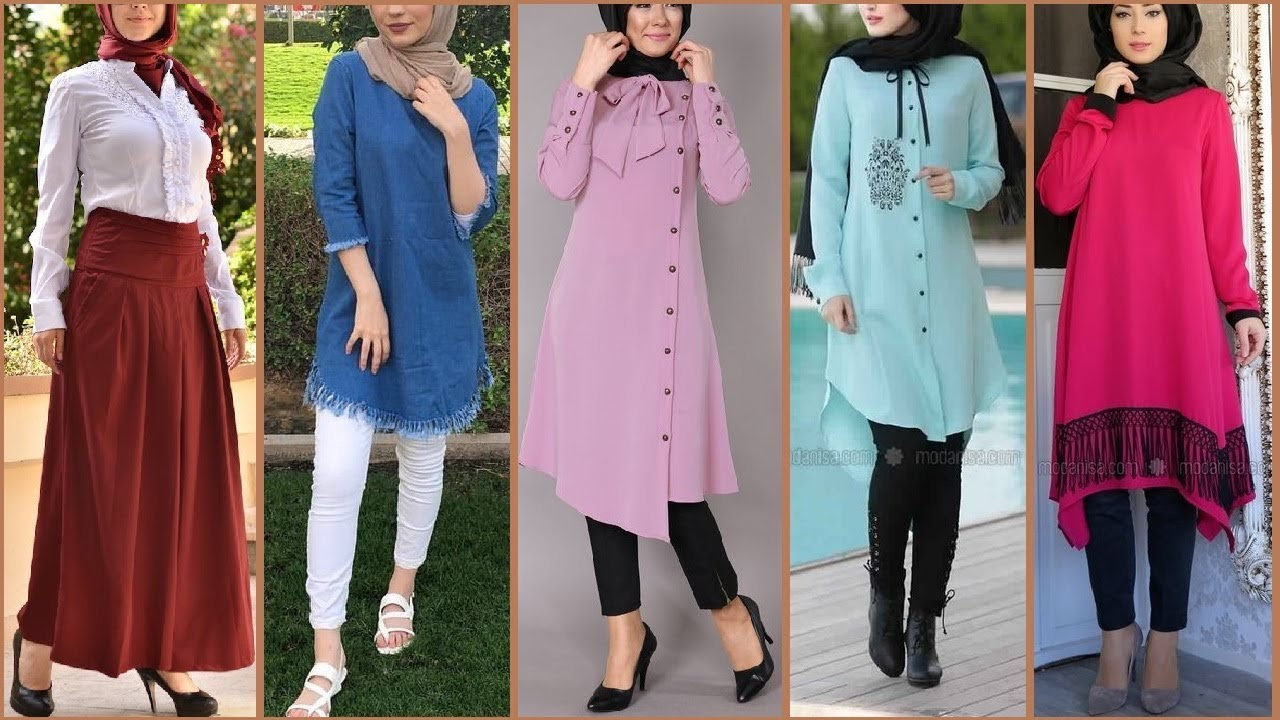 Modest and trendy dresses available for Muslim women here!
