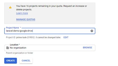 Getting Google Drive API 2